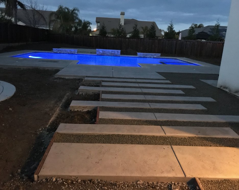 An image of finished concrete slab in DIamond Star.