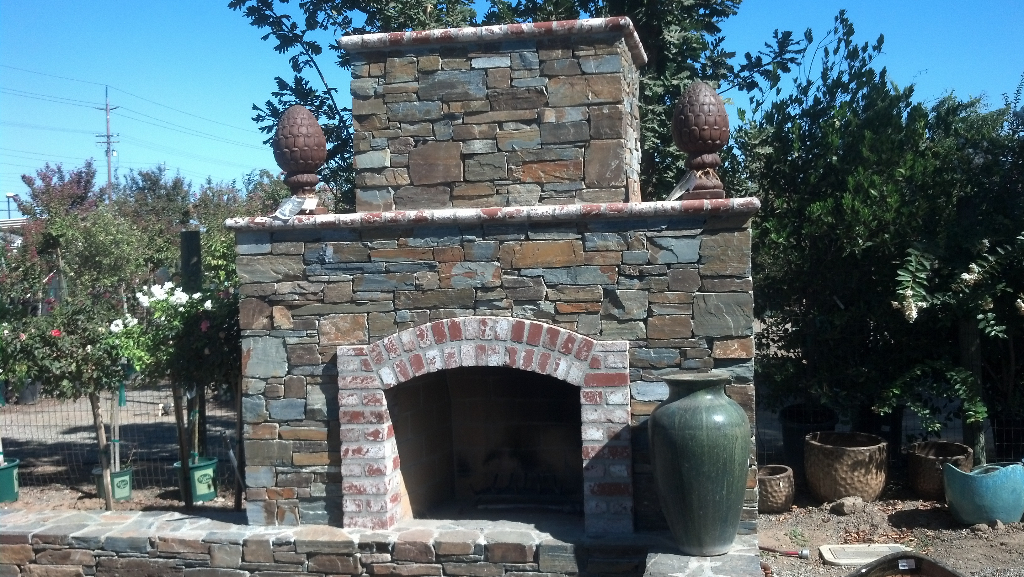 An image of outdoor fireplace in Diamond Bar