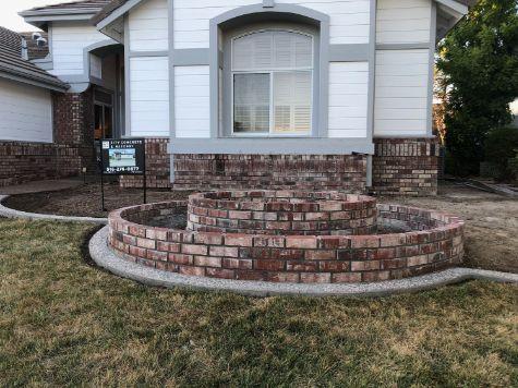 this picture shows brick masonry diamond bar california