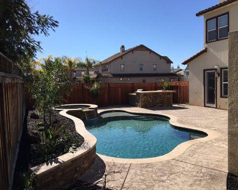 this image shows concrete pool deck diamond ca