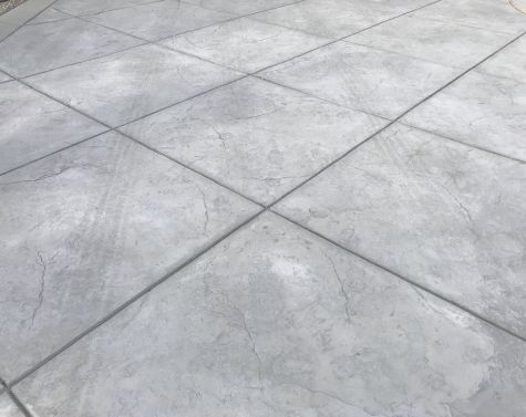 this picture shows stamped concrete driveway patio in diamond bar