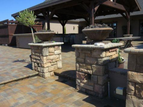 this image shows stone masonry diamond concrete
