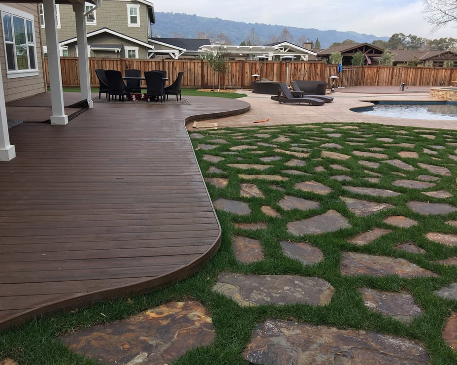 An image of concrete pavers in Diamond Bar, CA.