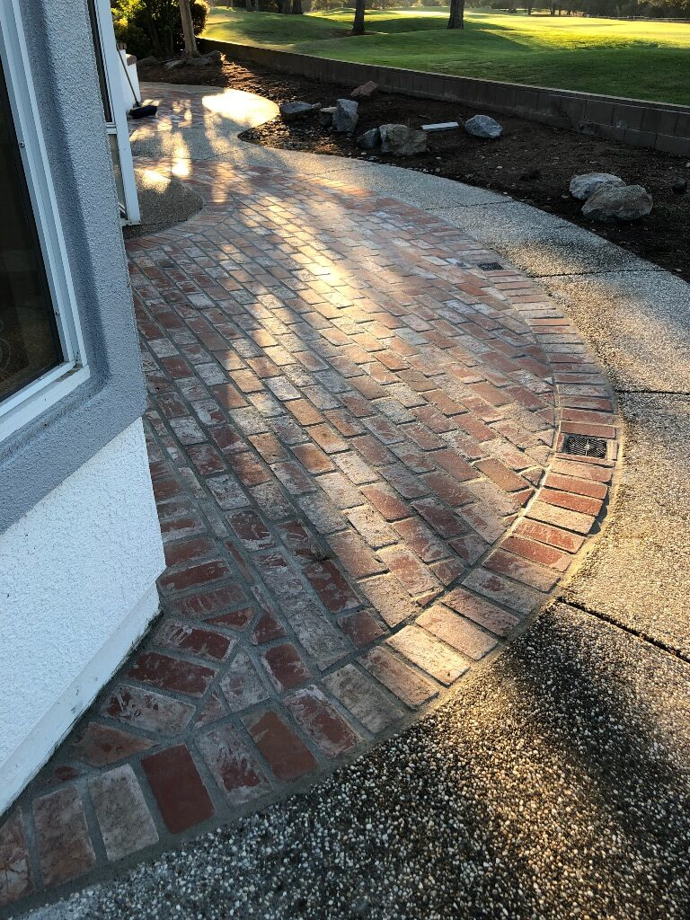 An image of brickpavers in Diamond Bar, CA.