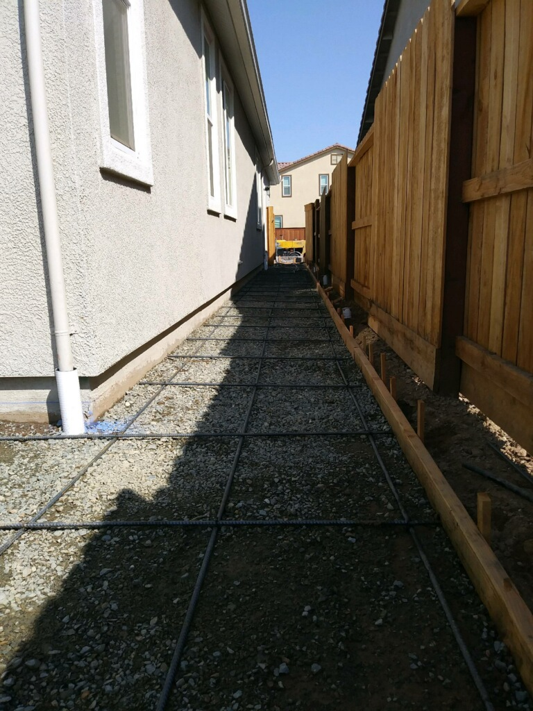 this is an image of concrete leveling in Diamond Bar