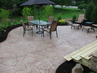 A picture of patio works in Diamond Bar.