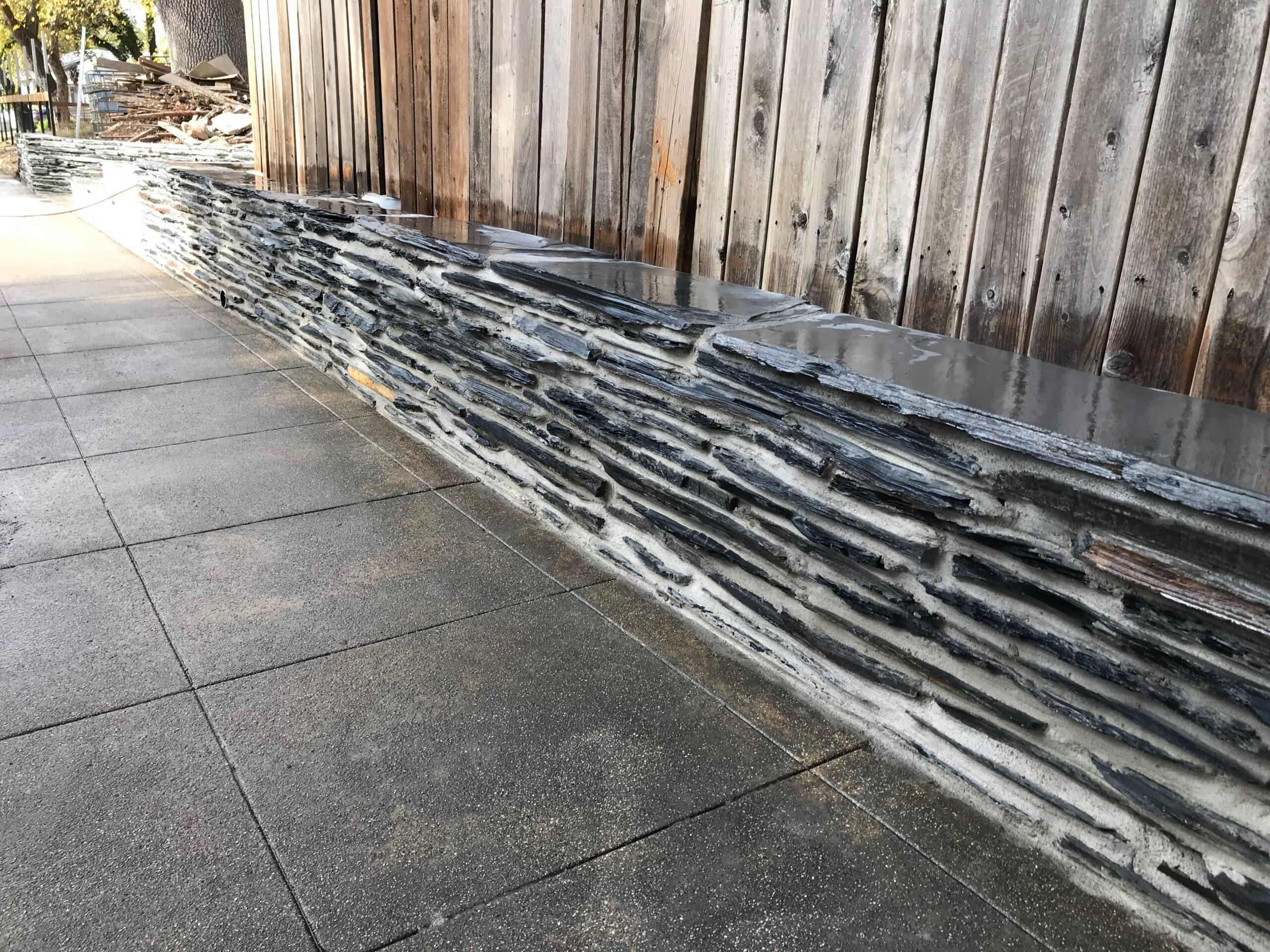 this is an image of stone veneer in Diamond Bar
