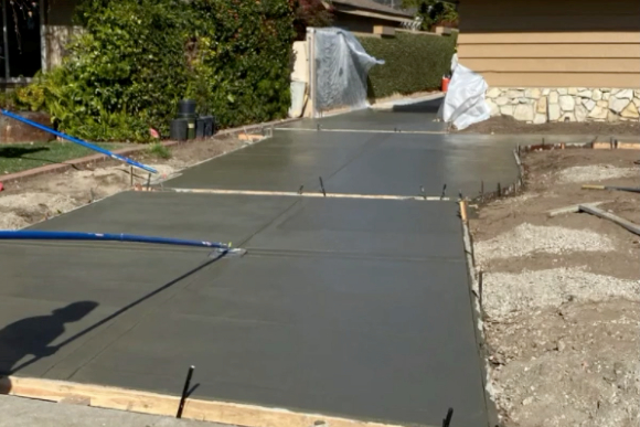 this image shows driveway in Diamond Bar, California