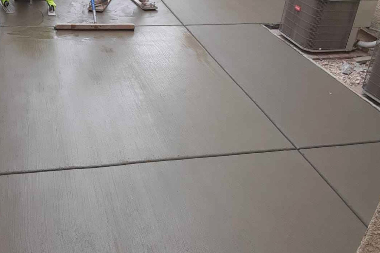 this image shows concrete leveling in Diamond Bar, California
